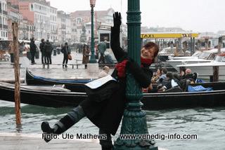 Venedig ist auch in der kalten Jahreszeit eine Reise wert.