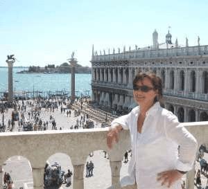 Eine der schönsten Aussichten in Venedig.