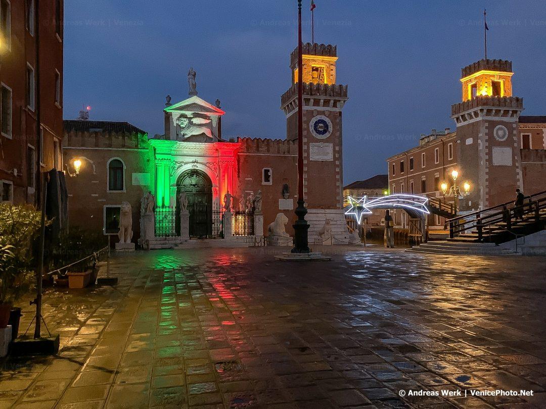 Das Arsenale in Venedig
